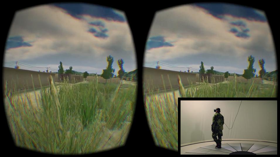 Denne lar deg gå rundt i VR-verdenen med Oculus Rift