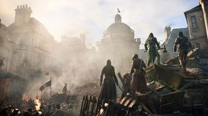 Du kan spille Assassin's Creed Unitye med fire andre.