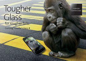 Det nye Gorilla Glasset skal ha tålt opp mot 80 prosent av fallene i Cornings nye tester. Helt uknuselig er det likevel ikke.
