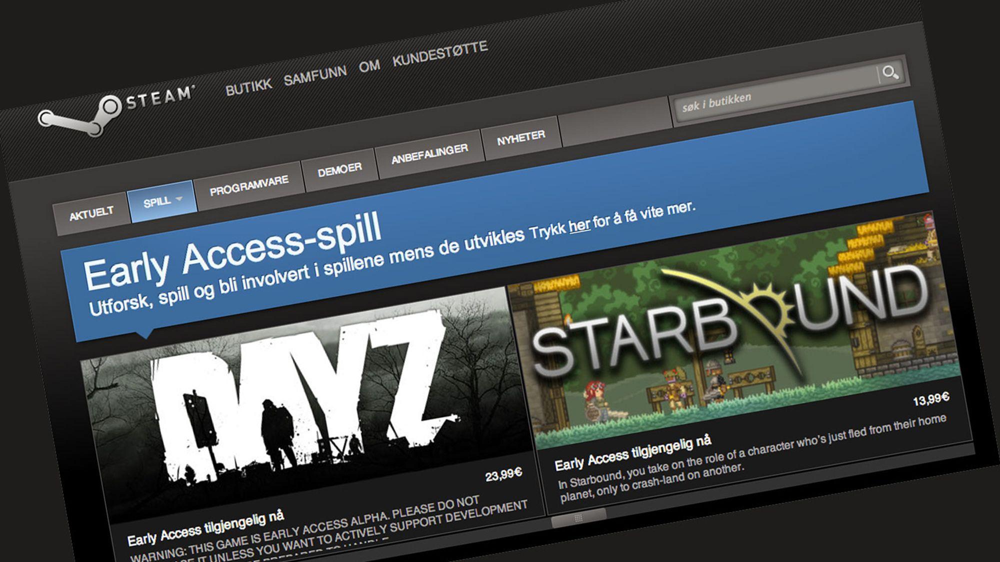 Les Valve vil hindre utviklere fra å love for mye med Early Access