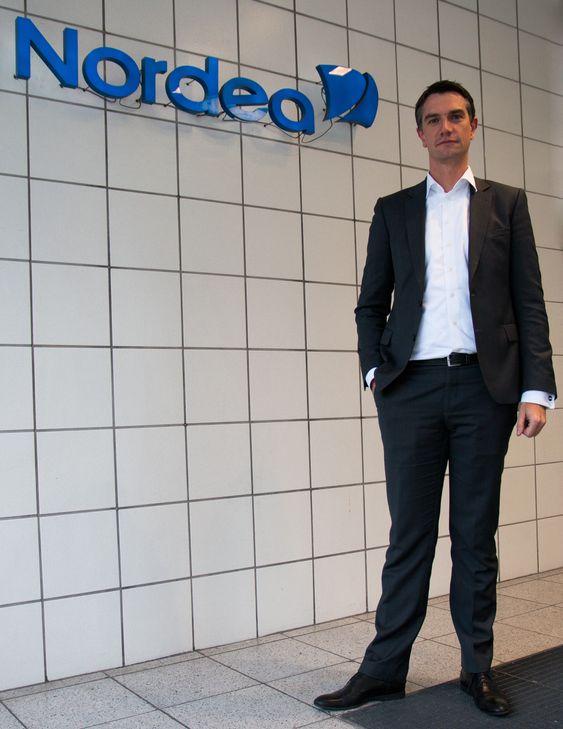 Christian Bornfeld, leder for Nordea Digital Banking.