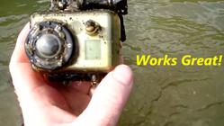 Se dette GoPro-kameraets siste ferd nedover elven