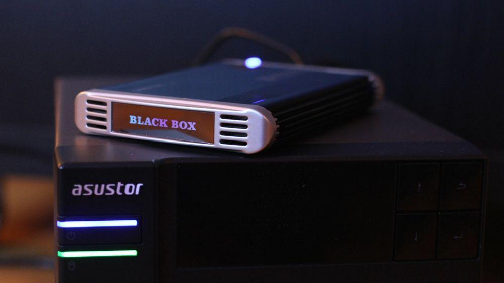 Sikkerhetskopiering fra NAS til ekstern harddisk er en av flere muligheter.