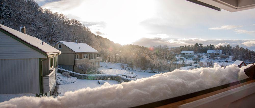 Om vinteren kan du ta deg god tid på morgenen, solen kommer ikke særlig langt uansett.