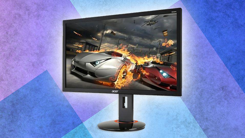 Det lynraske panelet, sammen med G-Sync-brikken, skal gjøre Acer-skjermen perfekt til intensive spill.