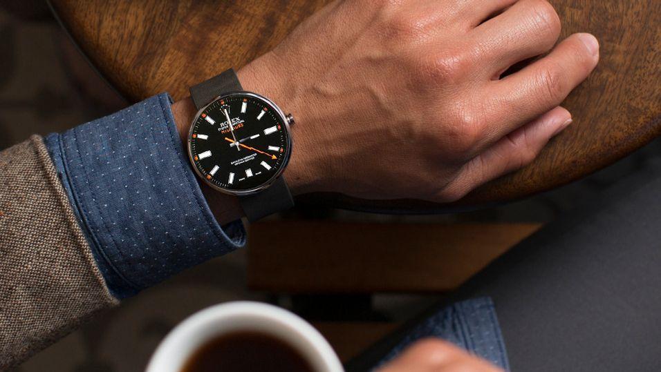 Skal det være en Rolex? Den er bare et klikk unna for deg med smartklokke, men nå setter piratjegerene til verks.