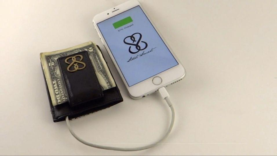 Batteriproblemer? SmartWallet er løsningen.