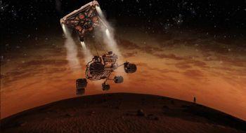 Samarbeid for å overleve på planeten Mars