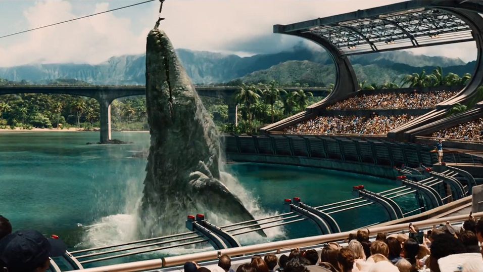 Se Jurassic World-traileren her