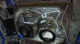 NASAs nye 3-skriver på ISS.