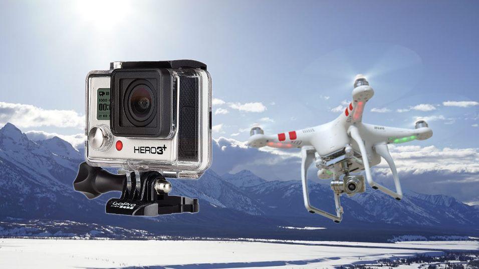 GoPro-sjefen bekrefter luftige planer