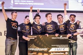 Fnatic er regjerende Dreamhack Winter 2013-mestere.