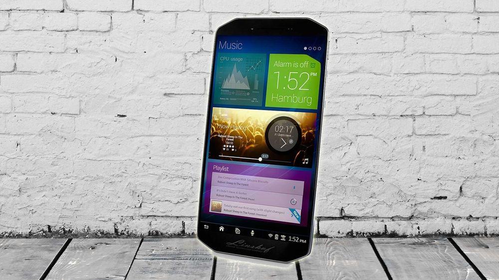 Tysk nykommer med åttekantet mobil