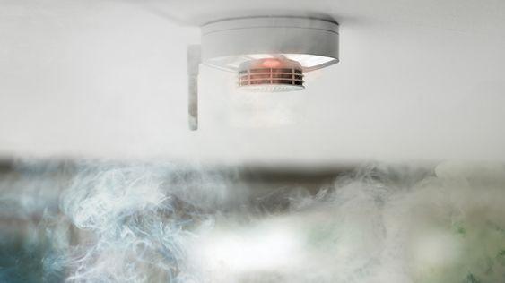 Verisures røykvarslere er seriekoblet.