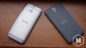Det er en lang vei å gå opp til kvalitetsnivået i HTC One (M8), men Desire 620 er stilren den også.