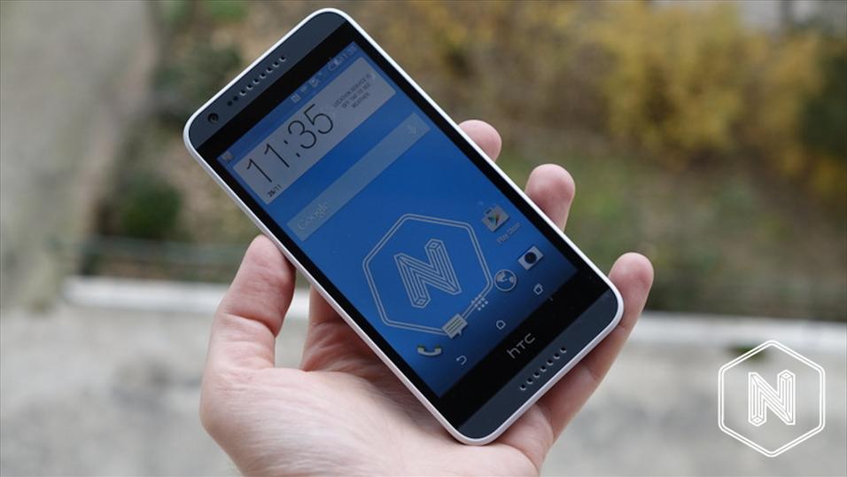 Dette er HTC Desire 620.