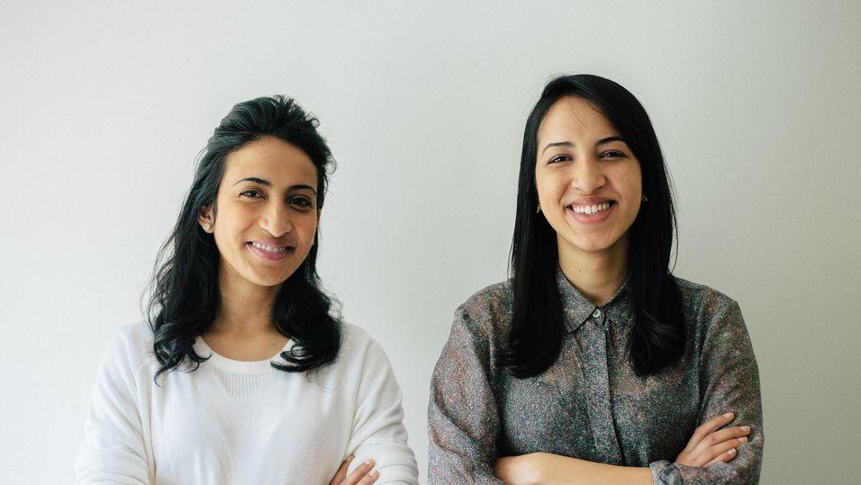 Søstrene Noor og Gina Siddiqui vil revolusjonere pasientbehandling med Google glass.