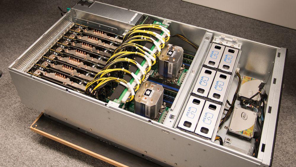 Dette er supermaskinen norske statshackere bruker til å knuse passord