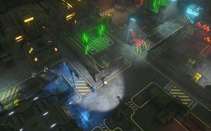 Regn, betong og neon. Jepp, det er cypberpunk.