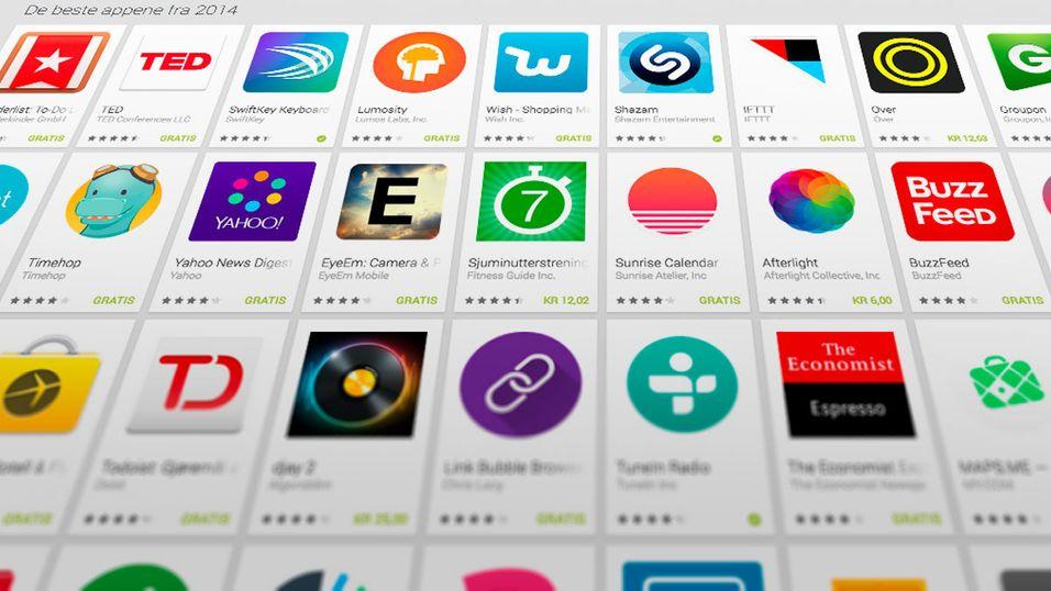 – Dette er årets beste Android-apper