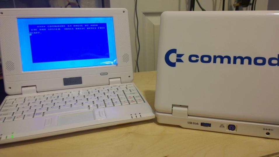 Nå kan du skaffe deg en bærbar Commodore 64