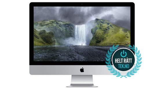 Apples super-iMac er deilig, men dyr.