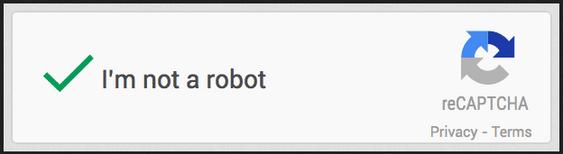 Slik ser Googles nye sikkerhetsmekanisme ut.