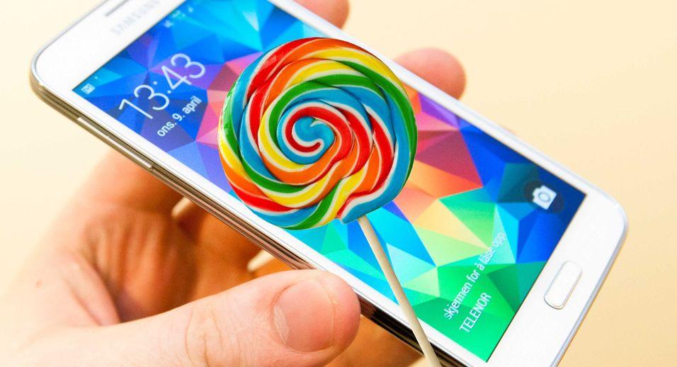 Nå får Galaxy S5-en din Android-oppgradering