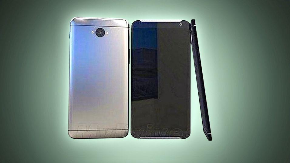 Dette er det så langt første (høyst uoffisielle) bildet som er lekket av HTC One (M9).