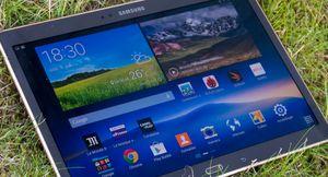 Galaxy Tab S prydes av kanskje den beste skjermen vi noen gang har sett i et nettbrett.