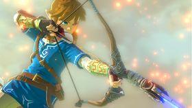 Det er usikkert når Link skal få skyte ting på Wii U.