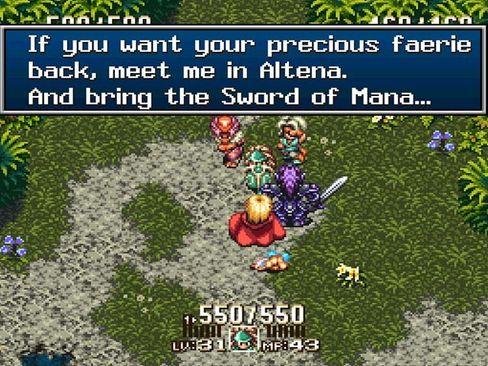 Seiken Densetsu 3 ble oversatt av en fangruppe.