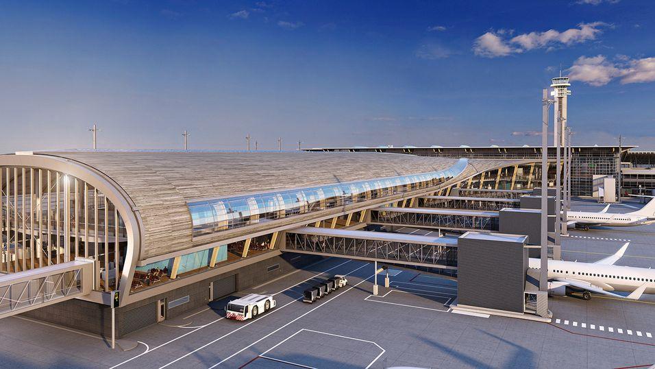 I 2017 står en helt ny pir klar på Oslo Lufthavn. Også denne er med i utvidelsen av nettverket.