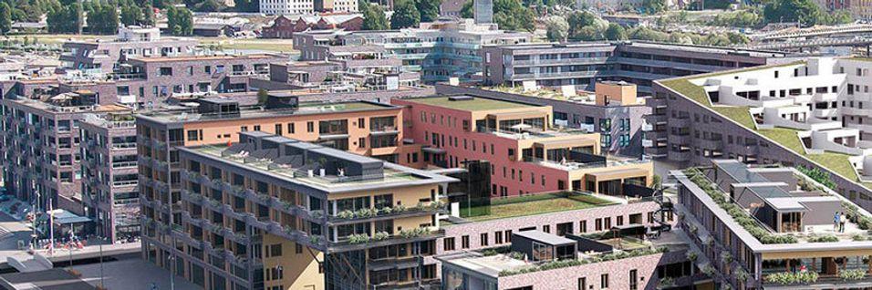 På Sørenga i Oslo blir det kabel-tv og bredbånd fra Get.