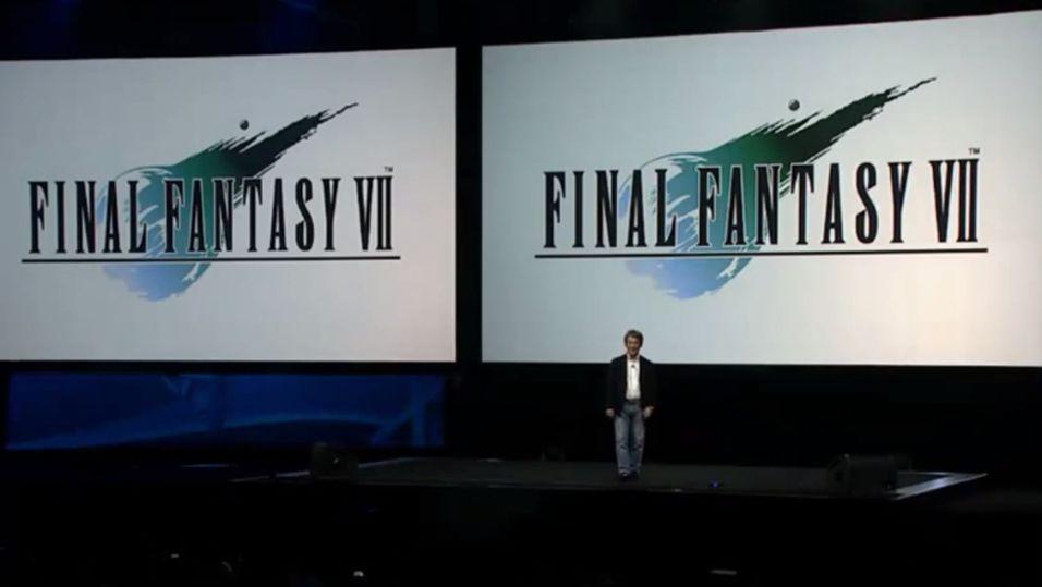 Skjermbilde av PlayStation Experience-streamen.