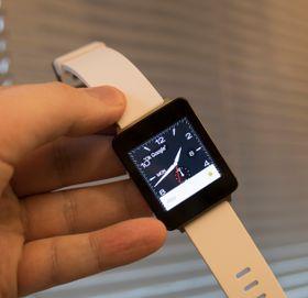 Spillet ble kjørt på en LG G Watch, som vi testet i fjor.