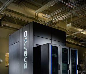 En av D-Waves kvantemaskiner. Dataprosessering ser ut til å være på vei mot en revolusjon, men det er mange om beinet.
