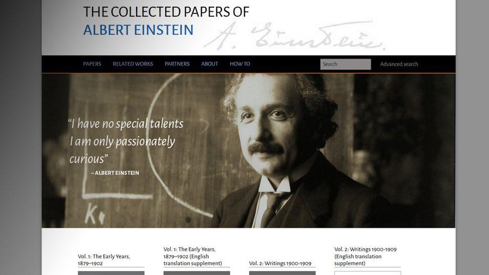 Einstein ga Marie Curie råd mot «trolling» i 1911