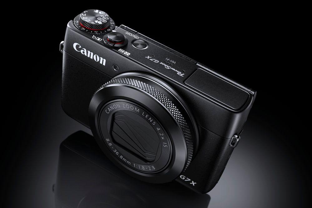 Canon PowerShot G7 X.