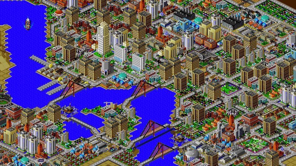 Nå kan du få SimCity 2000 gratis.