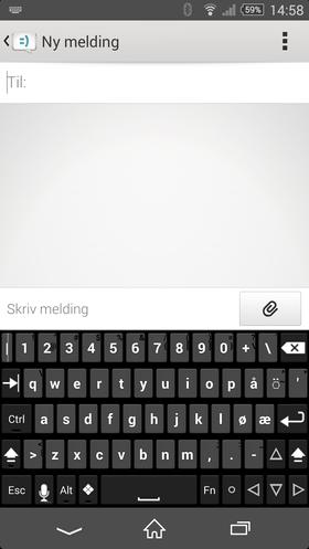 Hacker´s Keyboard gir deg masse muligheter. Kanskje for mye.