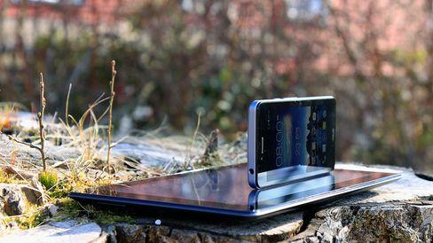 Asus PadFone Infinity var en av de første telefonene som brukte Sharps nye IGZO-teknologi.