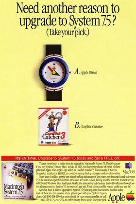 Annonsen fra 1995.