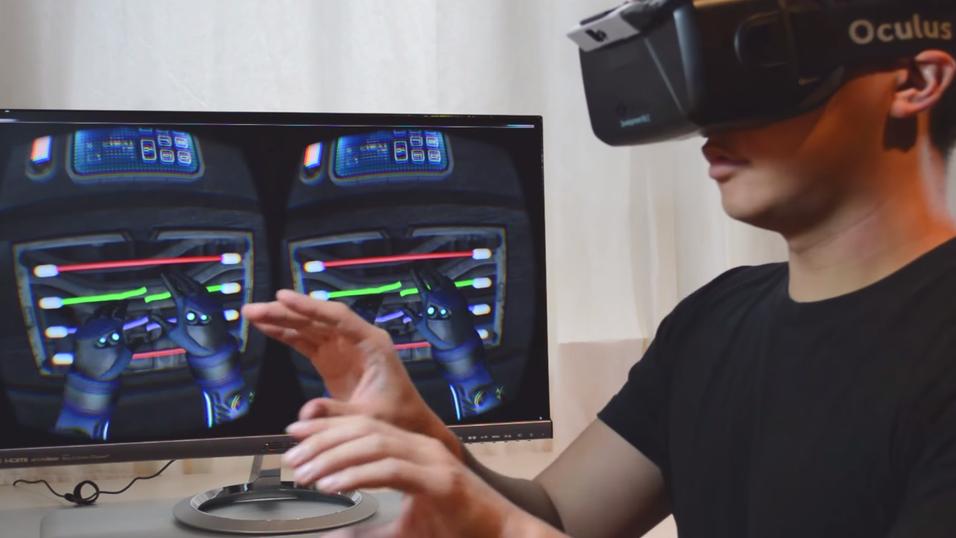 Nimble VR jobber med å bringe hendene inn i VR-verdenen på en realistisk måte.
