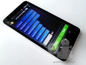 Det er også gjort en Benchmark-test av telefonen.