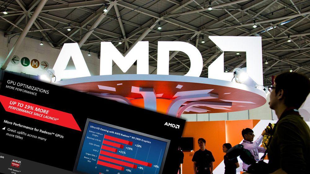 AMD har lansert en spesialdriver med masse nye funksjoner og ytelsesforbedringer.