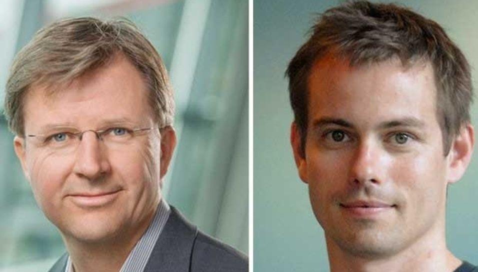 Bjørn Hansen og Gorm Grønnevet i Telenor Research ønsker å beholde dagens bransjeregler for nettnøytralitet.