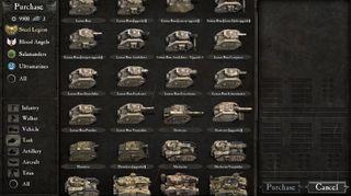 Nok stridsvogner (skjermbildet viser langt fra alle)?