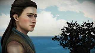 Mira Forrester holder til i King's Landing.