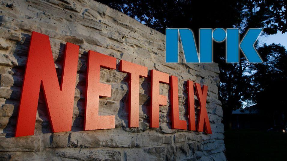 NRK har ergret på seg strømmegiganten Netflix